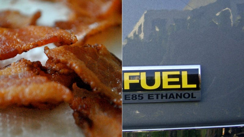 Illustration for article titled How Can Ethanol Fly In America If It Negatively Affects Bacon?