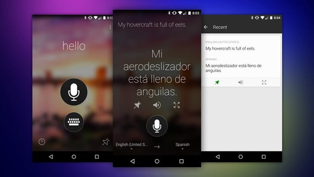 Resultado de imagen para microsoft translator app
