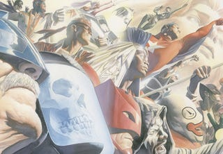 Illustration for article titled Kurt Busiek's Astro City soars towards the big screen