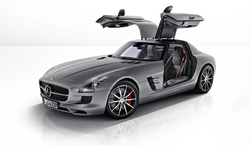 Illustration for article titled The Mercedes-Benz SLS AMG GT Is The Only One You'll Get Or Want
