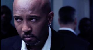 Scott Evans in a scene from his short film, TroubleManVimeo screenshot
