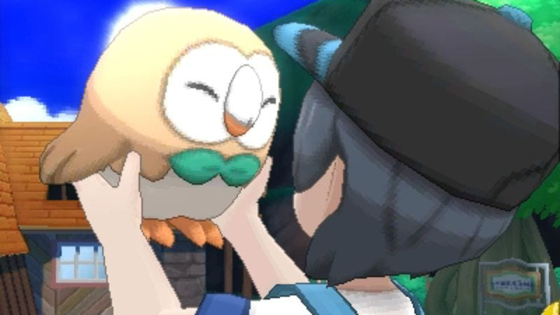 Screenshot: Pokémon Sun and Moon