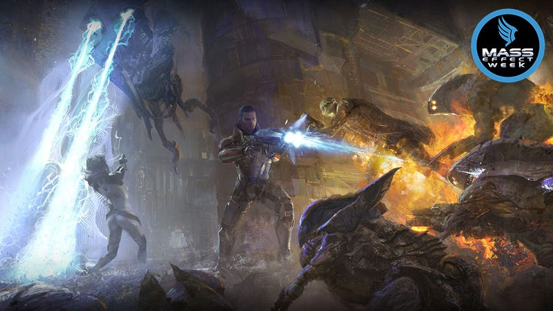 Illustration for article titled The Very Best Art From The Mass Effect Series