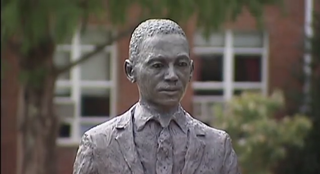 Statue of James MeredithYouTube