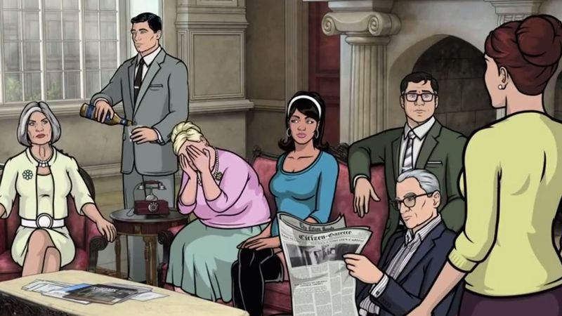 Illustration for article titled Archer renewed for two more seasons