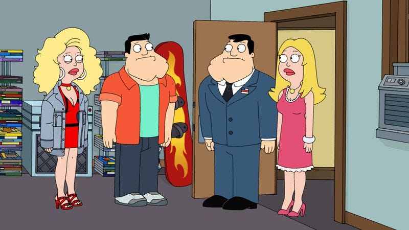 """Illustration for article titled American Dad: """"The Kidney Stays In The Picture"""""""