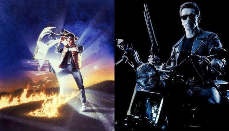 Back to the Future and Terminator 2 were both released on July 3.