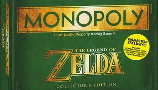 Illustration for article titled This Is The Zelda Monopoly Game Board, Out Next Month