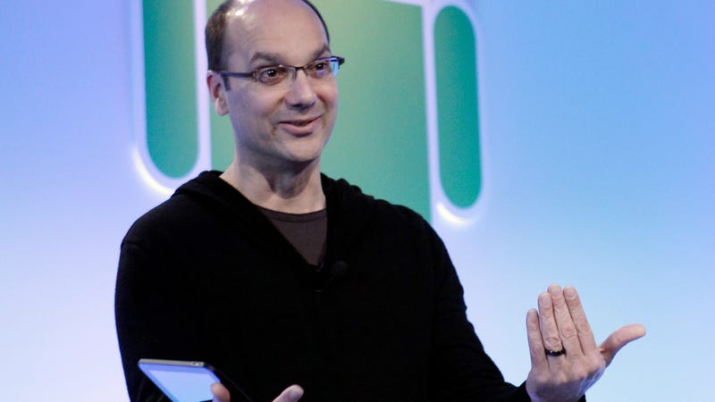 Google's Andy Rubin talks about Android at Google headquarters in Mountain View, California on Wednesday, February 2, 2011.