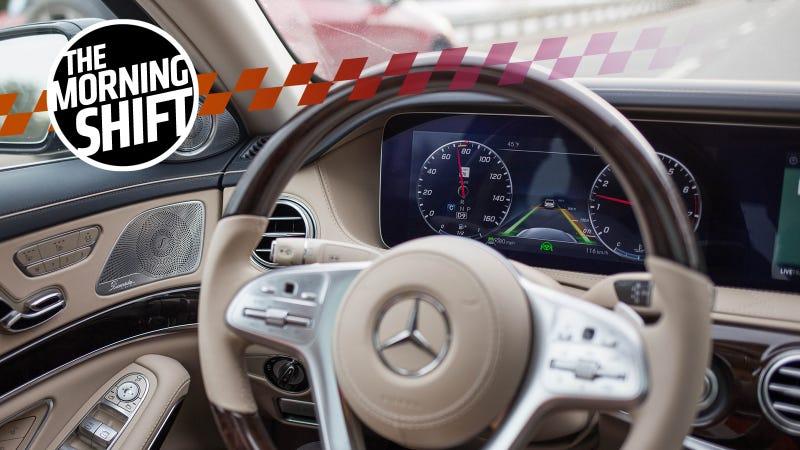 A self-steering, self-braking Mercedes-Maybach in action. Photo Credit: Kristen Lee/Jalopnik