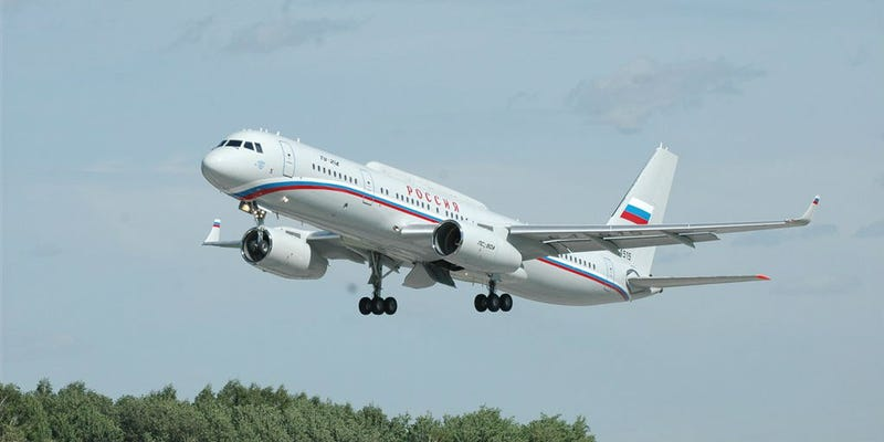 Illustration for article titled This Russian Doomsday Plane Is President Putin's Personal Escape Pod