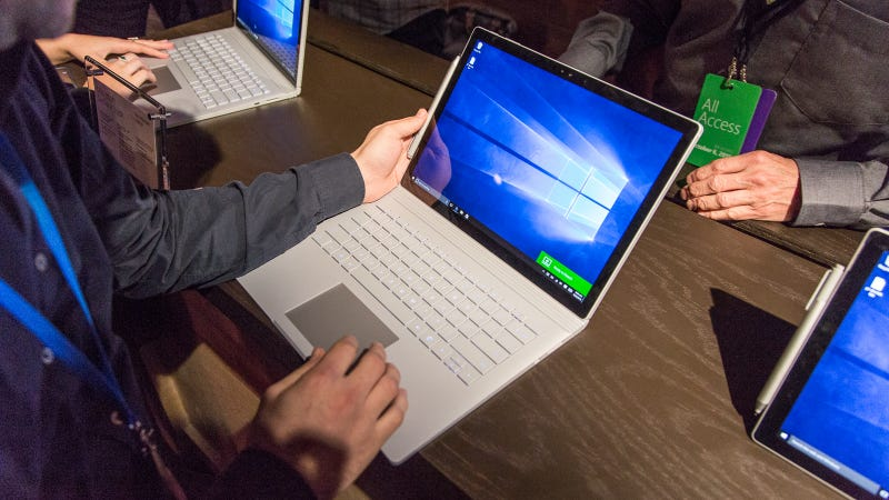 Illustration for article titled Surface Book Hands-On: Towards a More Perfect Laptop