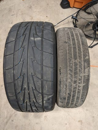 Illustration for article titled OG rear tire size vs what I run currently (have run for 2 years)