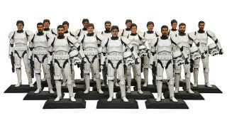 Illustration for article titled Disney can put your face on a 3D-printed Stormtrooper figurine