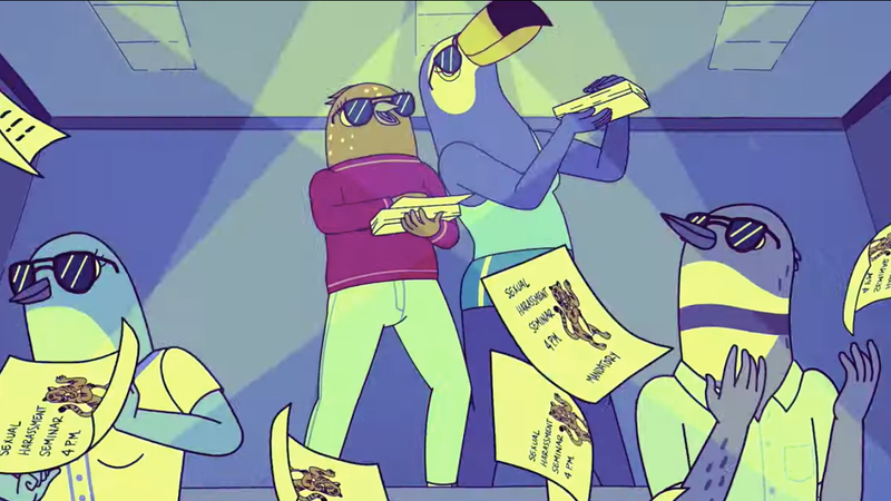 Illustration for article titled Tiffany Haddish and Ali Wong are Tuca & Bertie in Netflix comedy's first trailer