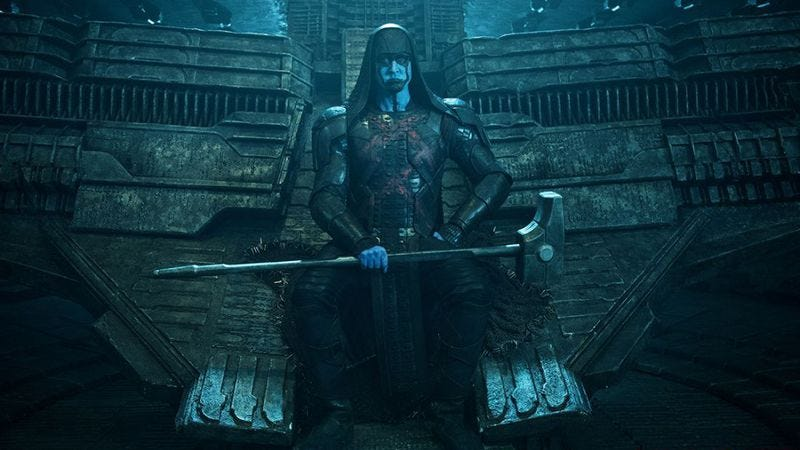 Lee Pace as Ronan The Accuser in Guardians Of The Galaxy