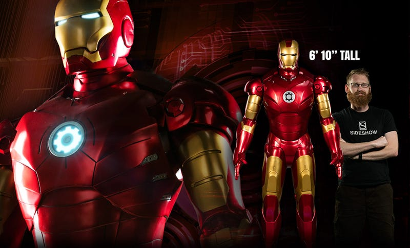"""Illustration for article titled Colossal Iron Man""""Figure"""" Costs $8000"""