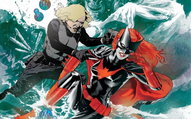 Illustration for article titled DC forbids Batwoman's gay marriage, creative team leaves [Updated!]