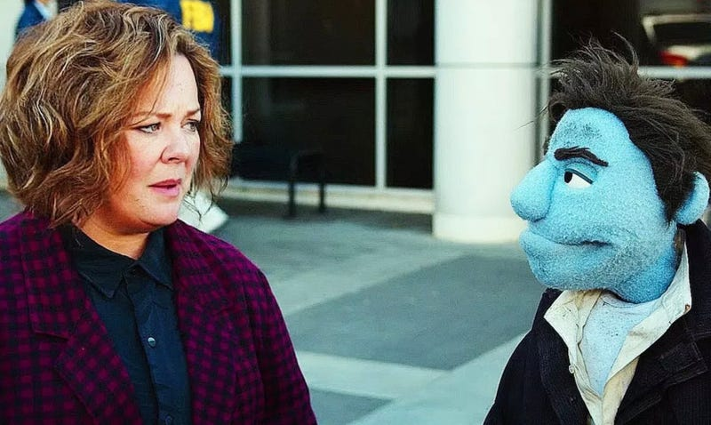A still from The Happytime Murders.