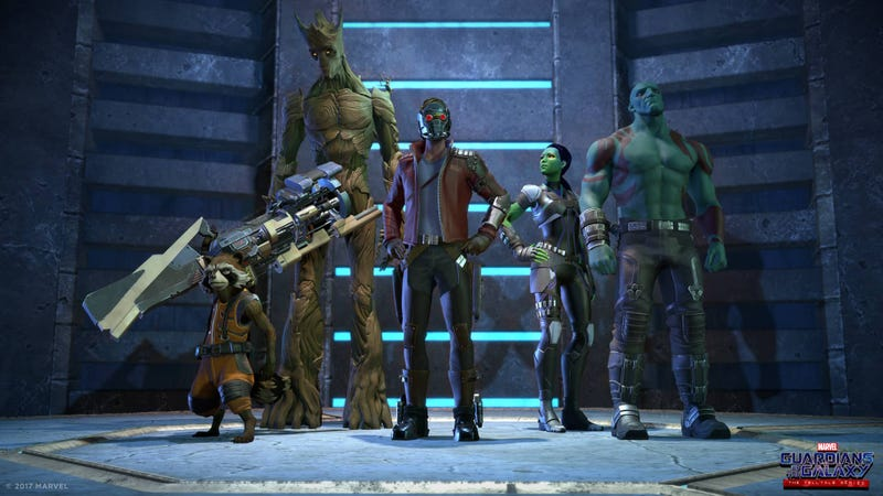 Shot from Telltale's upcoming Guardians of the Galaxy series