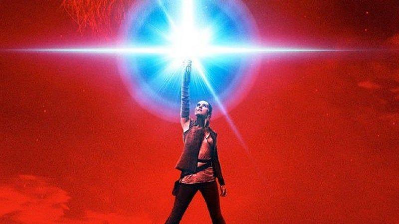 Star Wars: Episode VIII—The Last Jedi poster (Image: Disney)