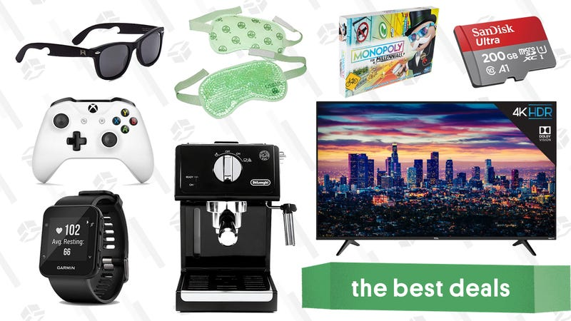 Illustration for article titled Thursday's Best Deals: TCL 6 Series TVs, Express, GPS Running Watch, and More