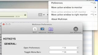 Illustration for article titled Multimon Adds Multiple Menubars, Automatic Window Resizing to Your Multi-Monitor Mac