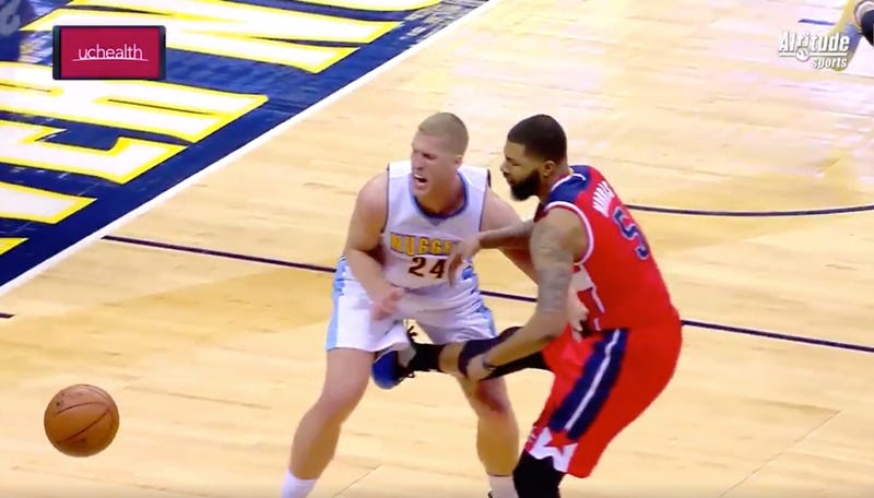 Illustration for article titled Markieff Morris Ejected After Kicking Mason Plumlee In The Dick And Balls