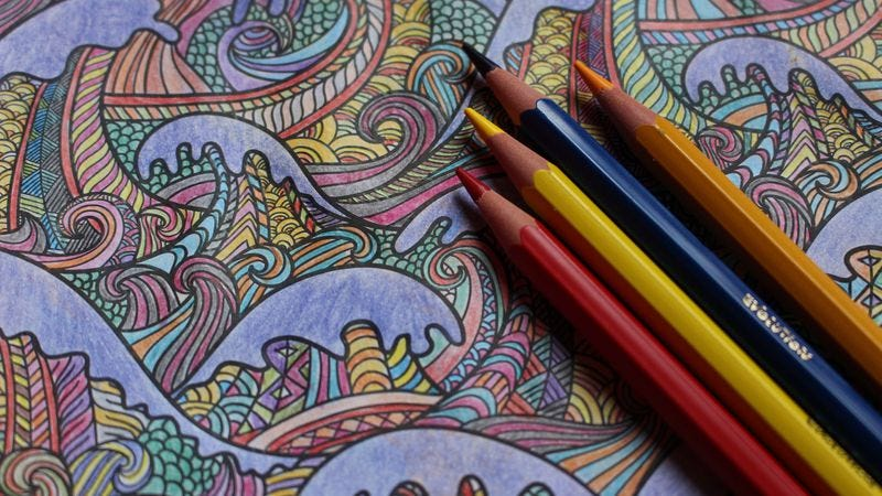 Read This Why Stressed Americans Are Driving An Adult Coloring Book Boom