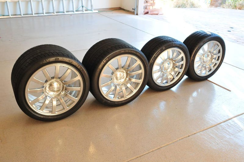 These Bugatti Veyron Rims On eBay Are A Steal At Only $30,000