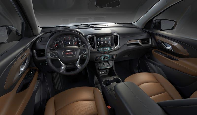 North American International Auto Show 2018 GMC Terrain SUV