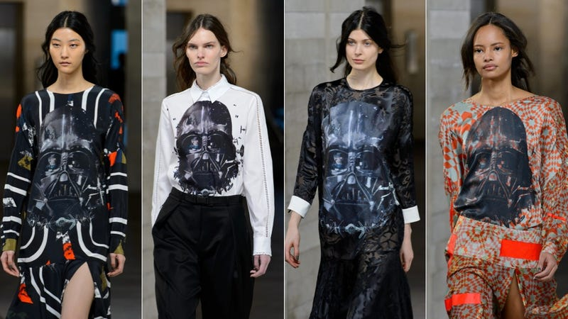 Illustration for article titled Another Star Wars-Themed Collection Hits the Fashion Week Runway