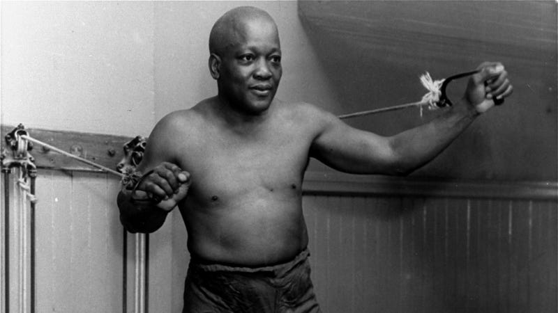 Illustration for article titled Trump Considers 'Full Pardon' of Boxer Jack Johnson After Sylvester Stallone Phone Call; Call Him Again, Sly