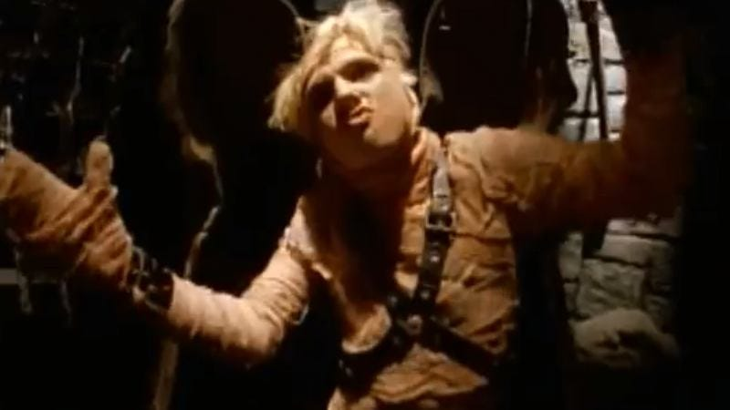 "Nick Carter in the ""Everybody (Backstreet's Back)"" video"