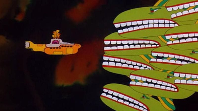 Drugs and submarines don't always have to be a bad combination. (Image: Yellow Submarine)
