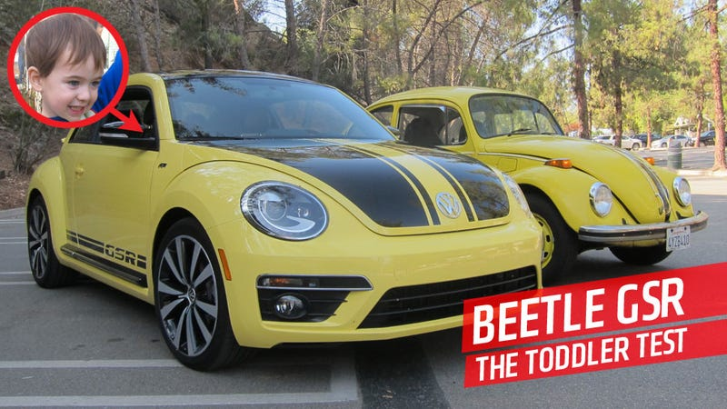 Illustration for article titled 2014 Volkswagen Beetle GSR: Will It Baby?