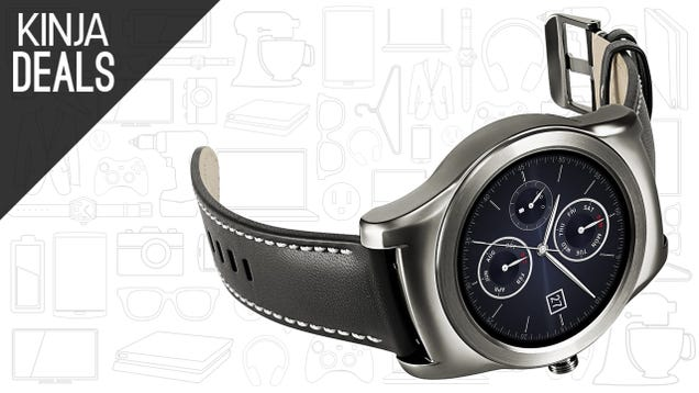 This Android Wear Watch Actually Looks Like a Watch, and Is Cheaper Than Ever