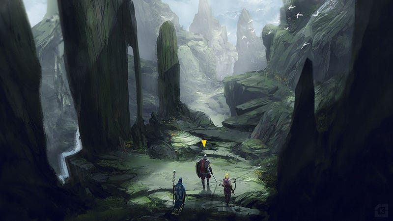 Illustration for article titled The Beautiful Promise Of An RPG World At Your Feet