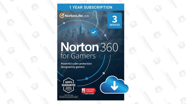 Norton 360 for Gamers Protects Three Devices for $35, Today Only