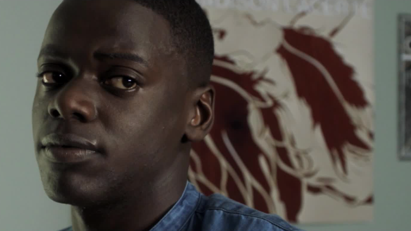 Daniel Kaluuya as Chris in Get Out.
