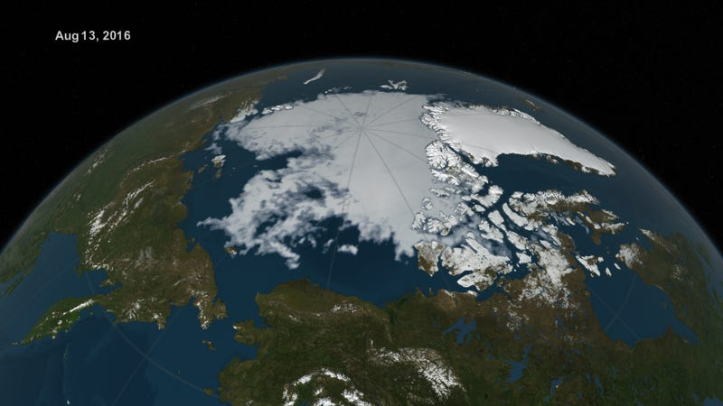 NASA Extended Interview: Record 2016 Heat Eating at Arctic Sea Ice