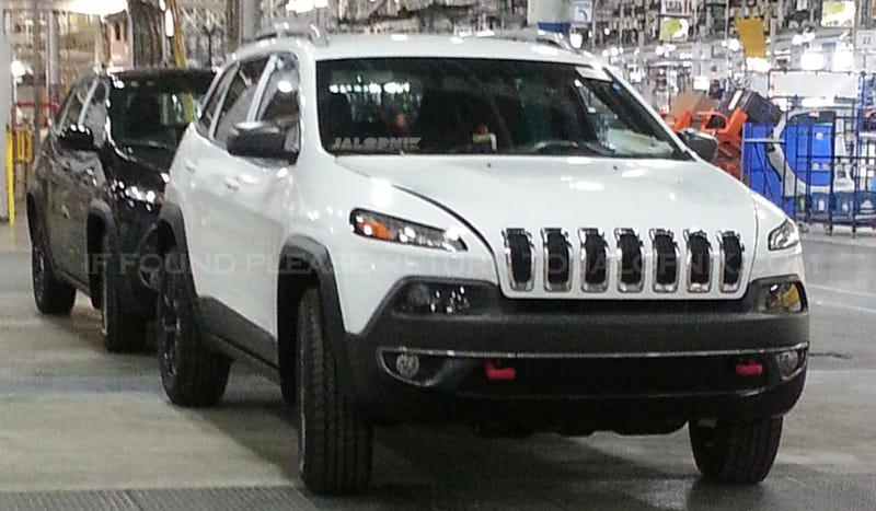 Illustration for article titled 2014 Jeep Cherokee: This Is It