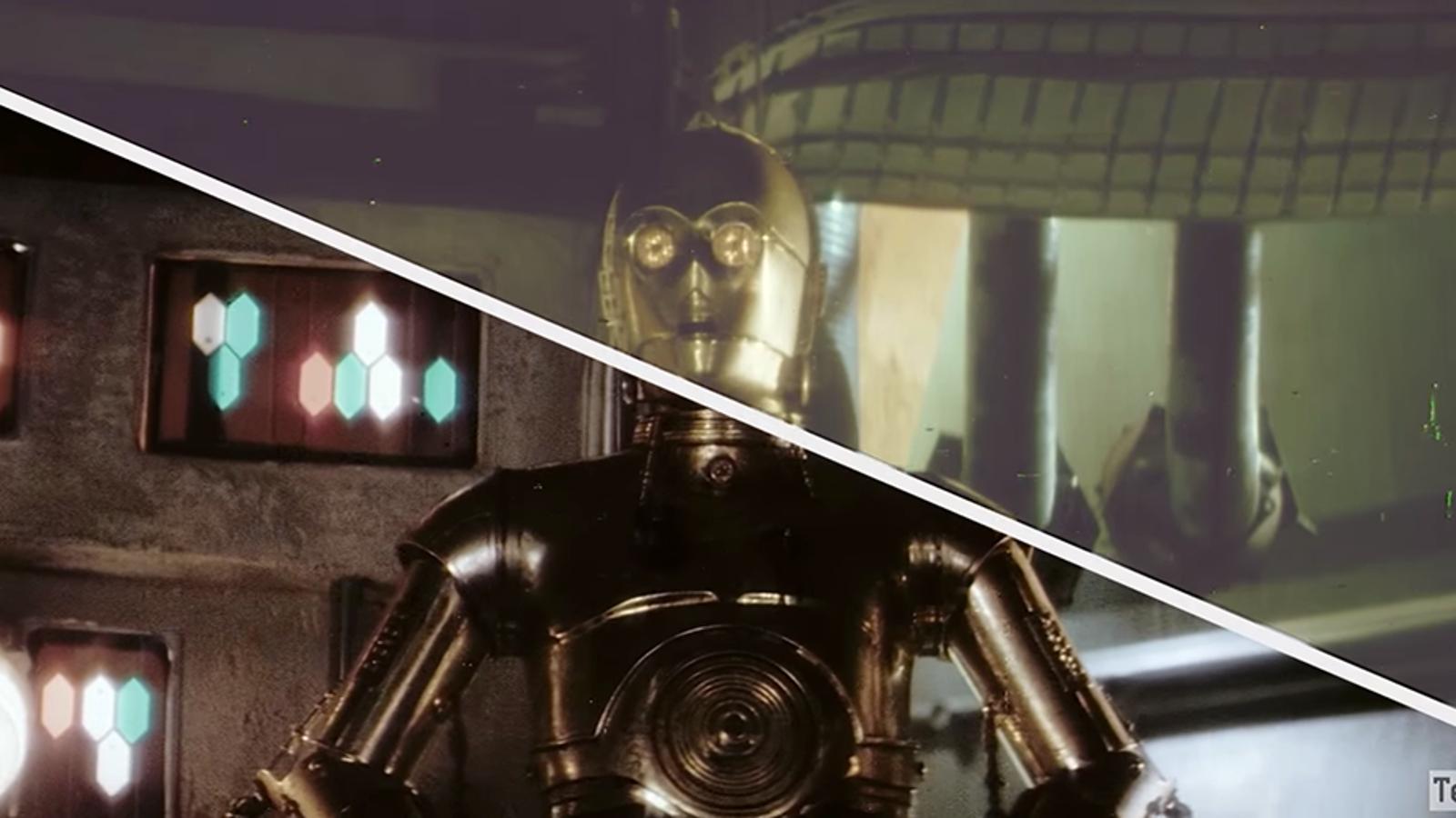 Encuentran una copia original de Star Wars en celuloide, la restauran y la suben a Internet