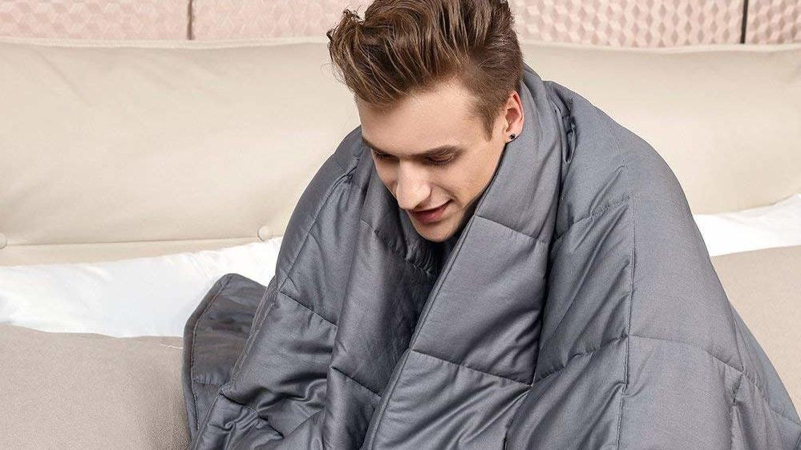 Celebrate the First Day of Fall With Stackable Weighted Blanket Discounts