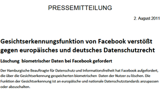 Illustration for article titled Remains of the Day: Germany Declares Facebook Facial Recognition Violates EU Law