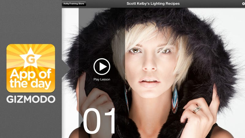 Illustration for article titled Scott Kelby's Lighting Recipes: Learn to Shoot Like a Pro With Free Photography App