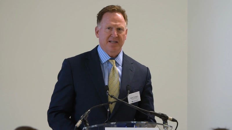 Mallinckrodt CEO Mark Trudeau in 2017