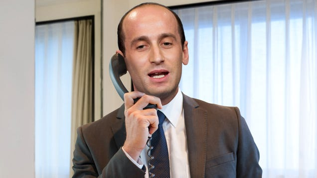Stephen Miller Spends Entire Honeymoon In Hotel Room Calling ICE On Cleaning Staff