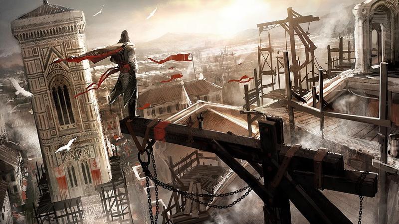 Assassin's Creed II concept art.