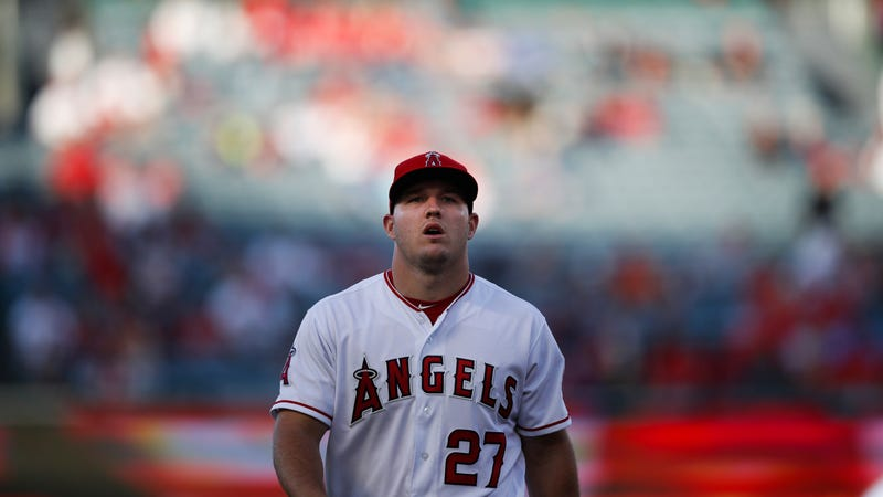 Illustration for article titled Mike Trout Doesn't Deserve This Shit